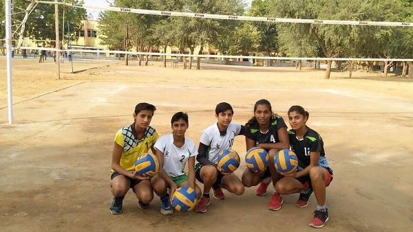 Rajasthan Volleyball Squad