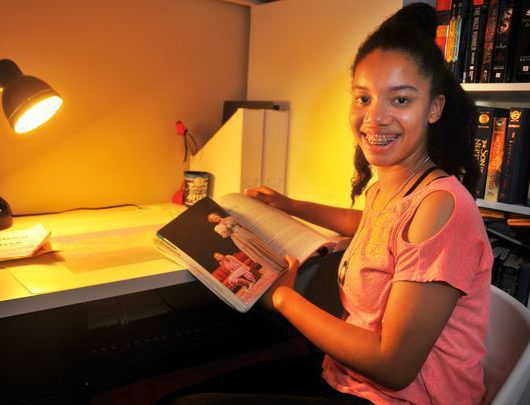 Florida Girl completes first semester