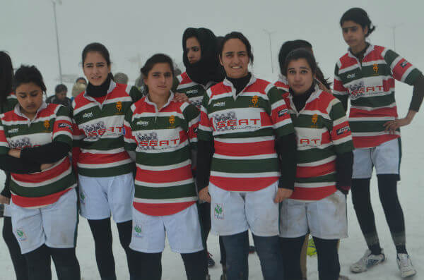 Jammu and Kashmir Women's Rugby Team 2