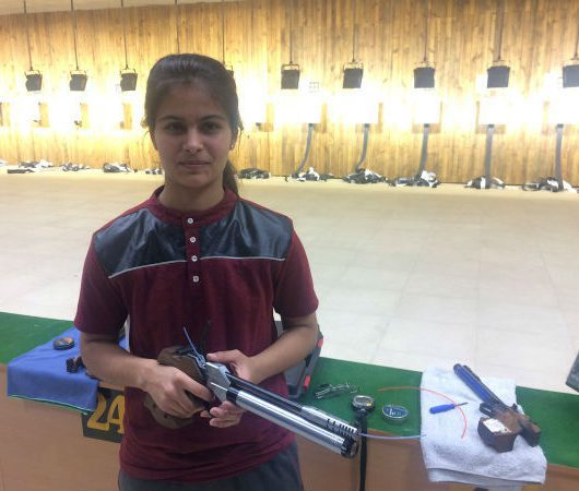 Manu Bhaker ISSF World Cup
