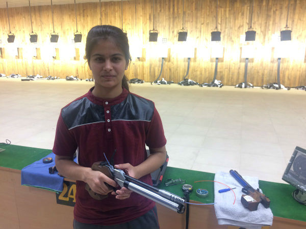 Manu Bhaker flag-bearer youth olympics games, Manu Bhaker Wins Mixed Team Gold