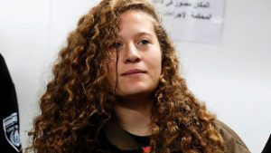 Ahed tamimi walks free