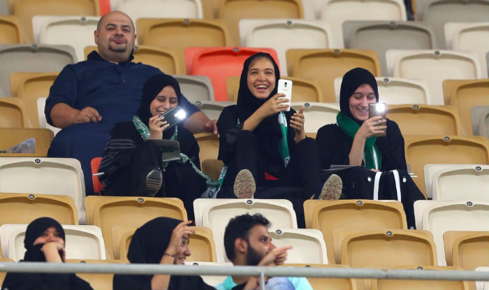 In Saudi Arabia, Women Attend Football Game For The First Time