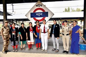 "Matunga: Mumbai's First ""All-Women"" Railway Station"