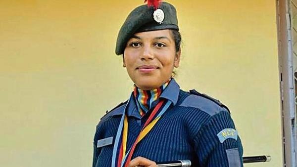Hisar Girl Receives NCC Gold