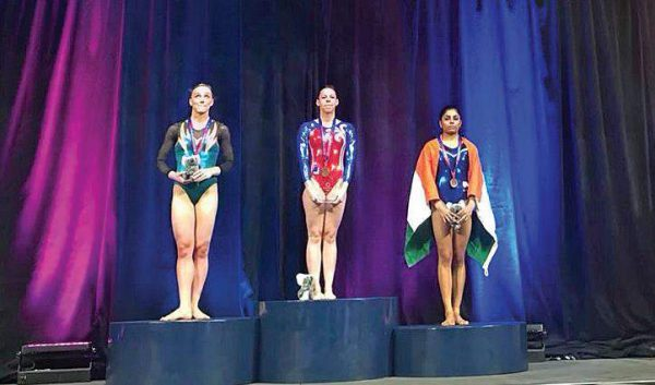 Gymnast Aruna Reddy