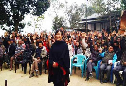 Naga women contest assembly elections