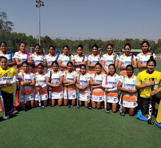 Hockey India chooses 20 women players