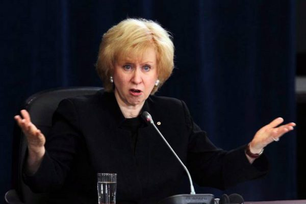 Kim Campbell Bare arms undermine credibility