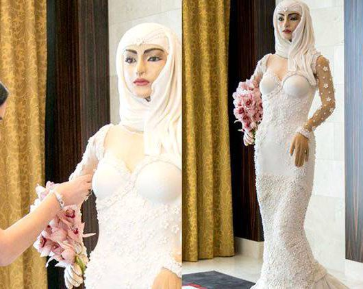London-based designer creates a million-dollar wedding cake