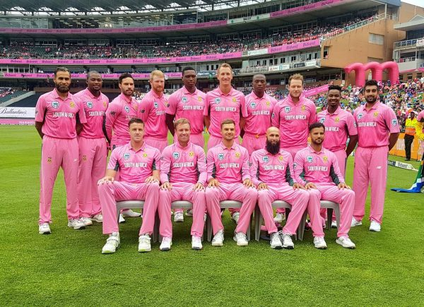 Pink South African Playing Eleven Today