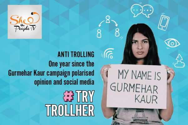 One Year since Gurmehar Kaur Campaign