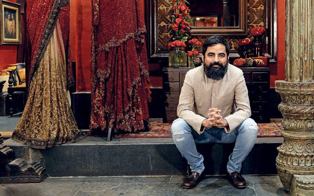 sabyasachi overdressed woman