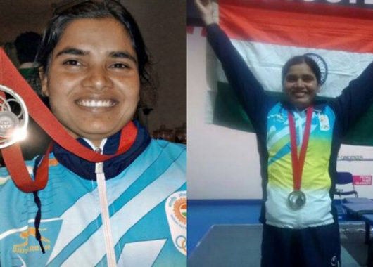 Para-athlete Sakina C'wealth Games