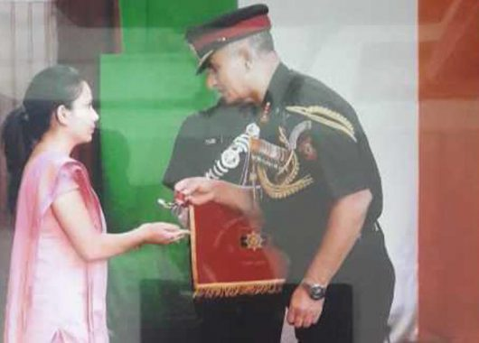 Two Years After Her Husband Was Martyred, Wife To Become Lieutenant