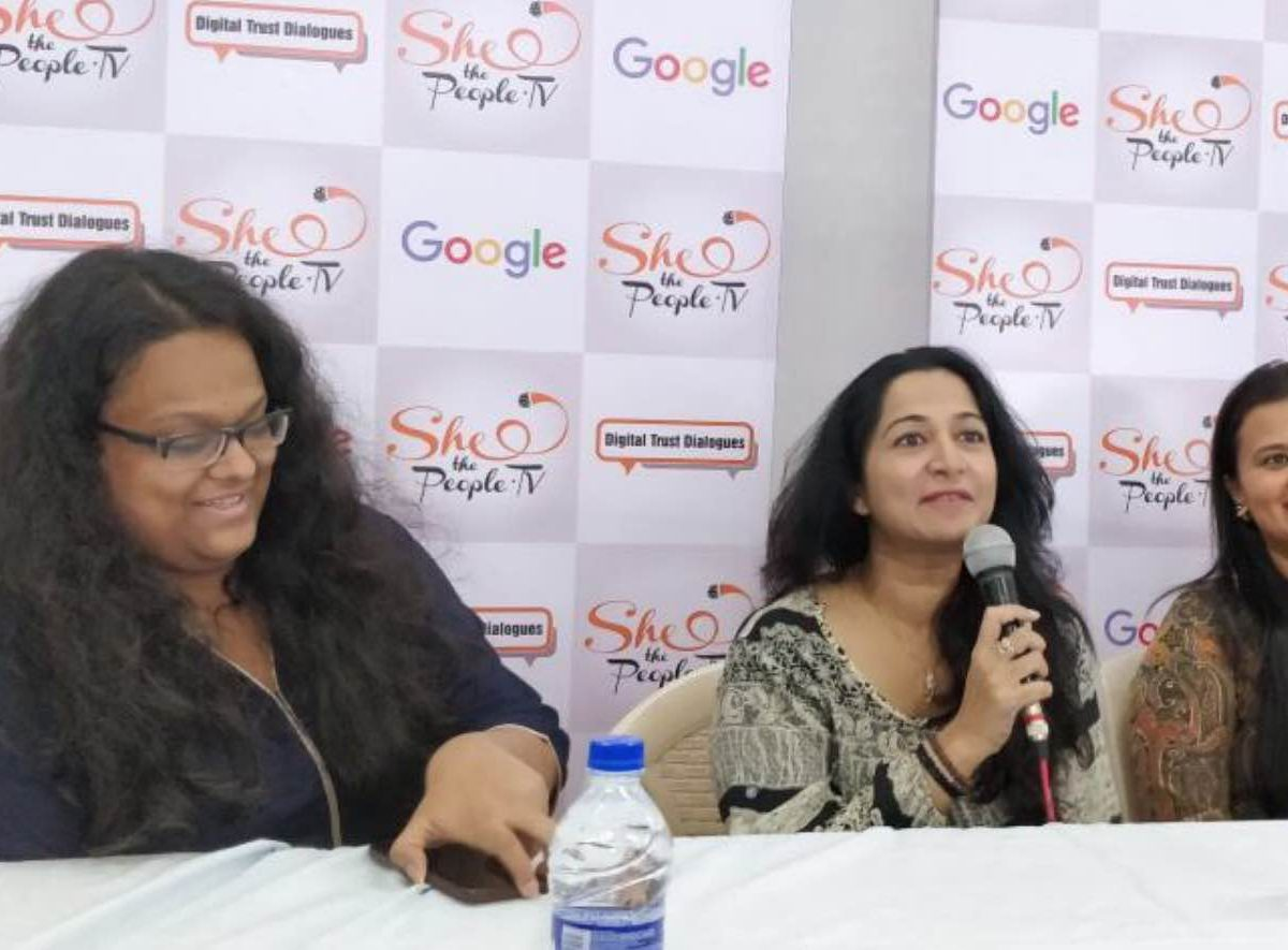 Digital Trust Dialogues Mithibai College Google India Online Safety