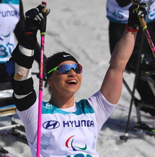 Amputee Skier wins Paralympic Gold