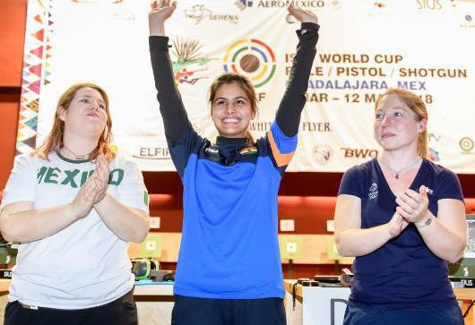 India Tops ISSFWorld Cup