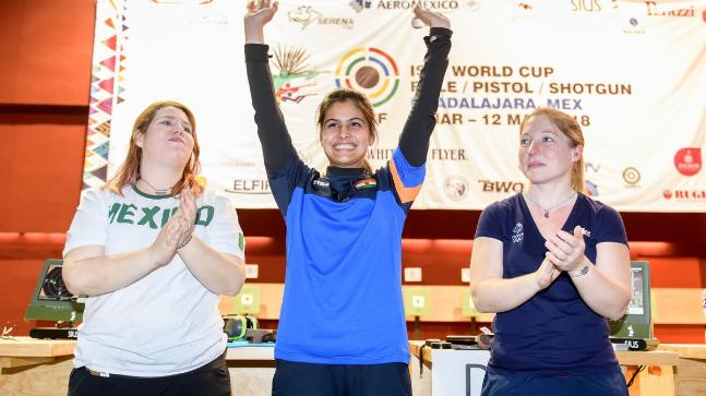 India Tops ISSF World Cup