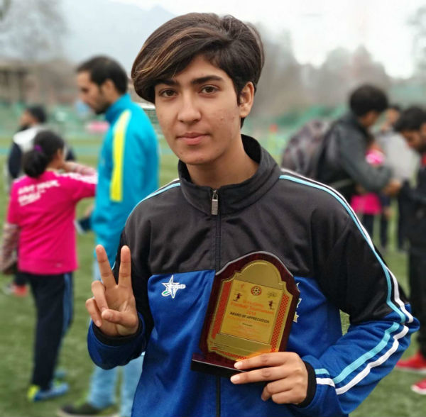 Nadiya Nighat, Kashmir's First Female Football Coach