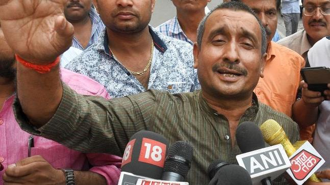 Kuldip Sengar Charged POCSO