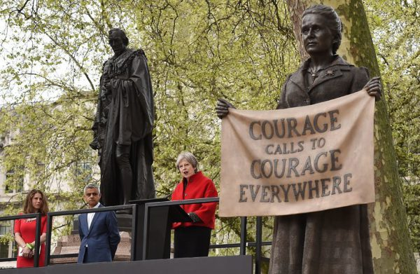 Millicent Fawcett London's Parliament Square