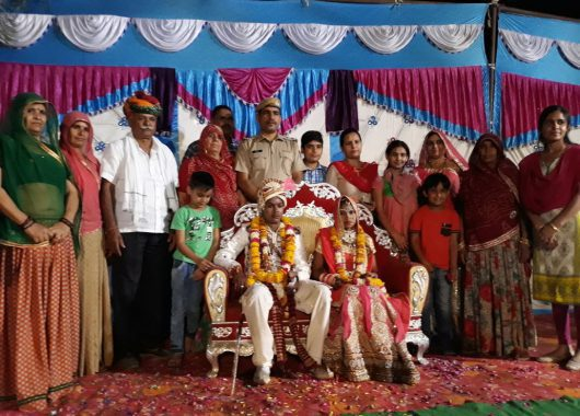 rajasthan-cops-host-village-girl's-wedding-at-the-police-station