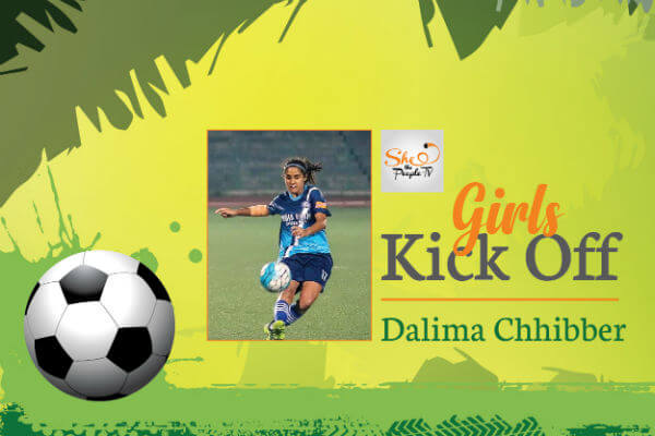 Dalima Chibber India Girls Football