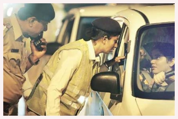 women traffic constables, Noida