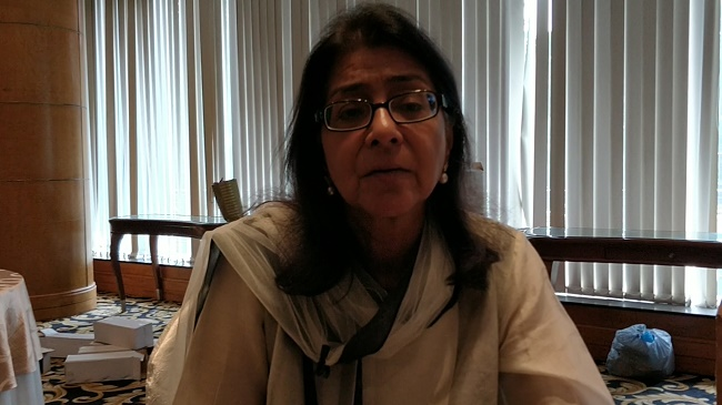 Naina Lal Kidwai talks water