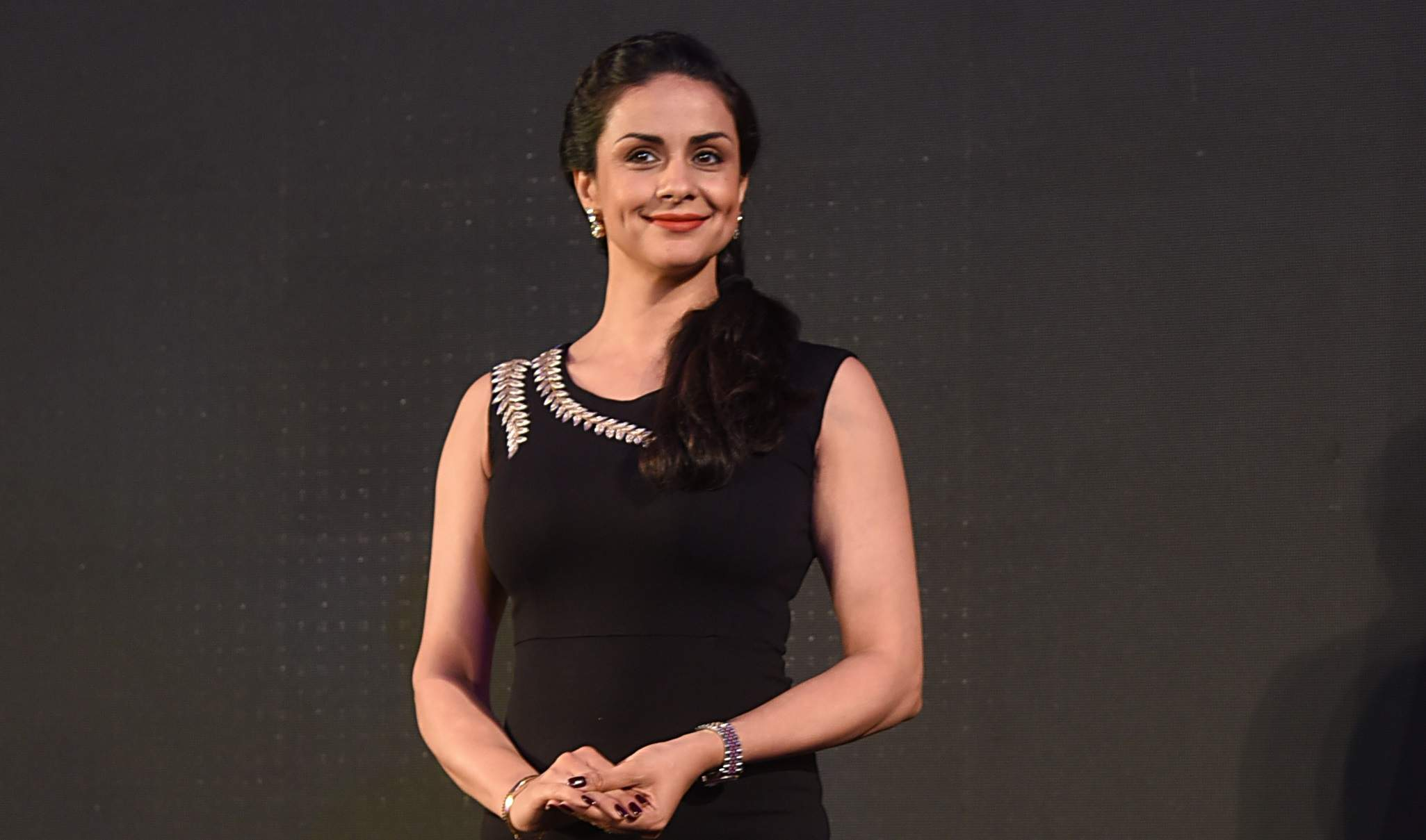 Gul Panag welcoming Baby