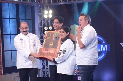 Doon girl wins top chef contest