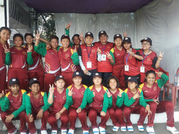 Kikam Bhutia Coach of Sikkim Women's Cricket Team