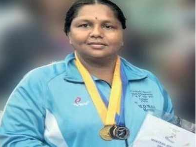Mysore Mother won Gold in Master Athletic Meet