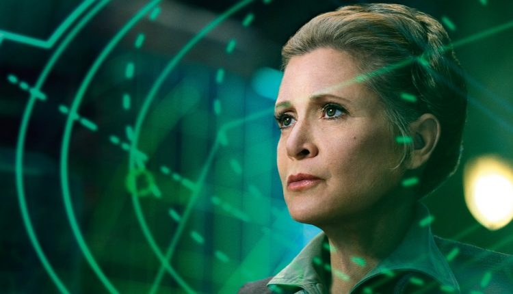Carrie Fisher Back Leia
