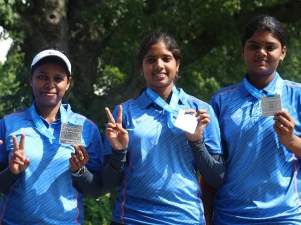 Indian women's compound archery