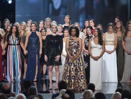 Larry Nassar's Sexual Abuse Survivors Honored At ESPY Award