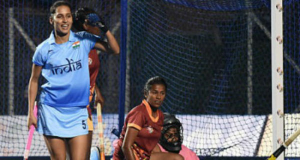 Preeti Dubey Lead Junior Hockey Team