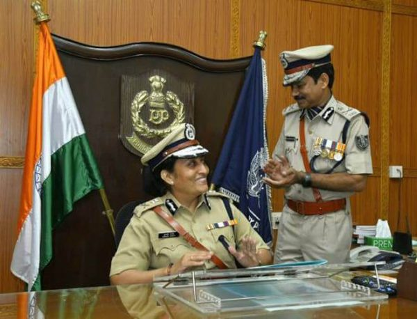 Puducherry first woman DGP