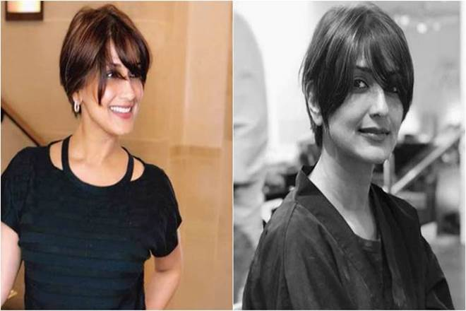 Sonali Bendre Cuts Her Hair Battling Cancer