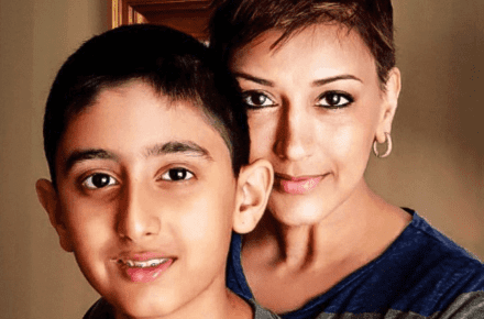 sonali bendre telling son cancer