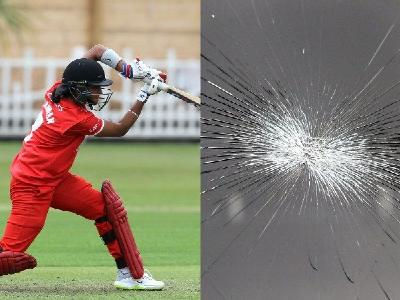 Harmanpreet Kaur Cracks Van at KSL
