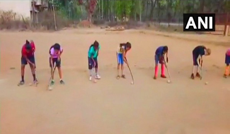 Girls With Hockey Sticks Fighting Naxalism In Chhattisgarh