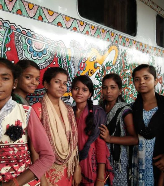 30 women artists Madhubani