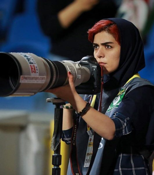 first female photographer Iran