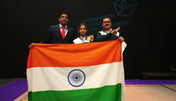 Shreya Gupta fencing