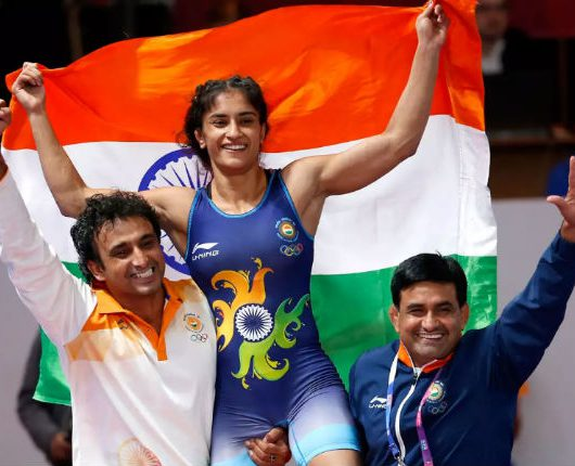 Vinesh Phogat third gold
