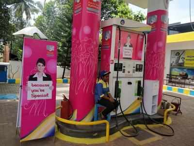 Mangaluru fuel station
