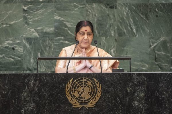 Sushma Swaraj UN Speech