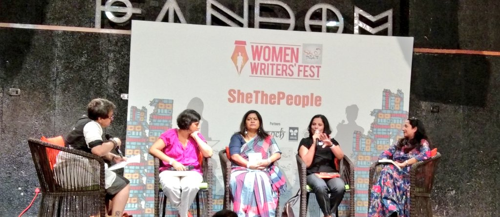 Women writers shout louder